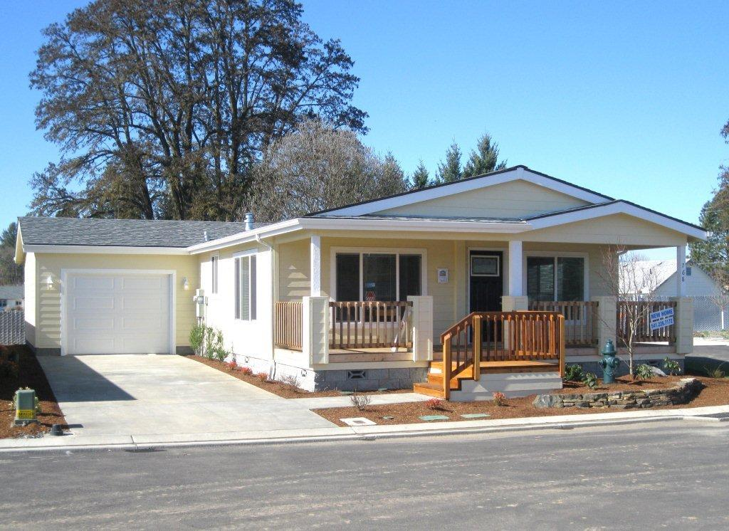 model manufactured home